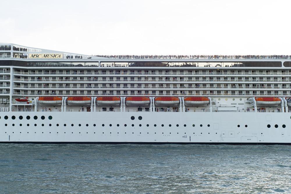 - giant ship