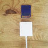 SD card square