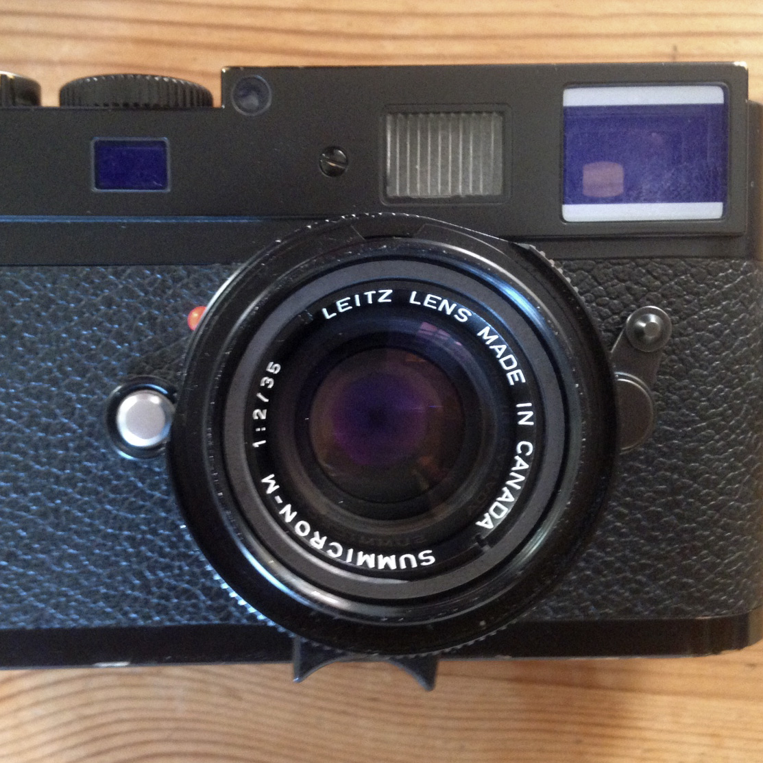 Leica 35 face carré